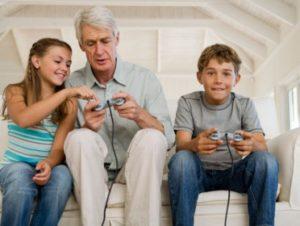 Gamle mænd og unge kvinder